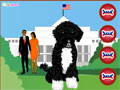 Obama's Dog Dress Up